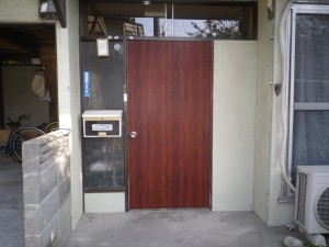 玄関アフター1