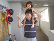 おちびちゃん様と野田で記念撮影☆